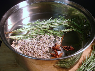 Don't Disturb This Groove: A Clean Fresh Fragrance for Your Home (using lavender, rosemary, star anise and lemon)