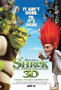 Shrek Forever After (2010) Rumpelstiltskin tricks a mid-life crisis burdened Shrek into allowing himself to be erased from existence and cast in a dark alternate timeline where Rumpel rules supreme. X