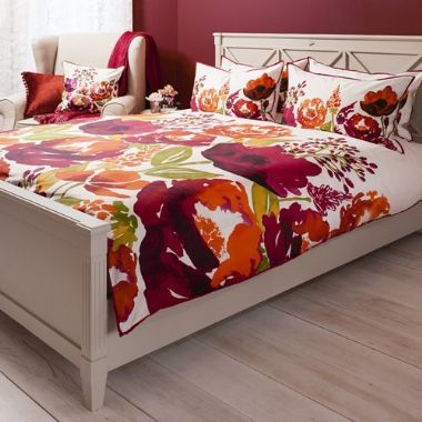 Isabella Burnt Orange Quilt Cover Set, Available in 4 Sizes Starting from £55 | brandinteriors.co.uk