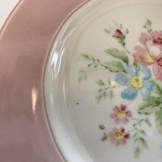 Gebraucht GreenGate Teller Plate Marie pale pink.