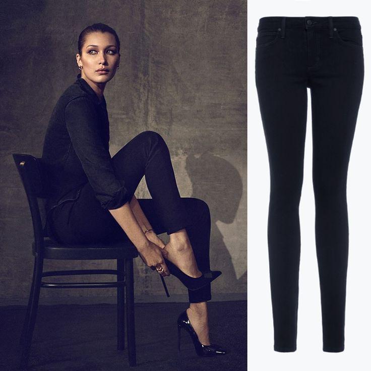 Прекрасная Белла Хадид в черных джинсах Joe's. Заходите к нам в JiST примерить такие же черные и такие же идеально сидящие джинсы из новой осенней коллекции этого американского бренда. Ул. Саксаганского 65. #fashionable #outfitidea: #stylish #BellaHadid in #trendy #black #Joes #jeans looks #chic #мода #стиль #тренды #джинсы #модно #стильно #блог #JiST