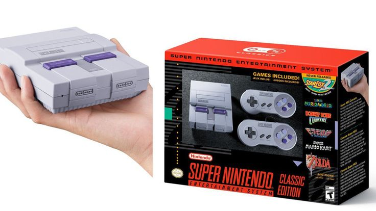 REDMOND, Wash. -- The NES Classic Edition was such a hit last fall that Nintendo has announced another mini console: The Super NES Classic Edition.  The SNES will have 21 games including classics likeSuper Mario World, The Legend of Zelda: A Link to the Past, Super Mario Kart, Super Metroid and F-ZERO. Plus, a previously unreleased sequel to Star Fox!