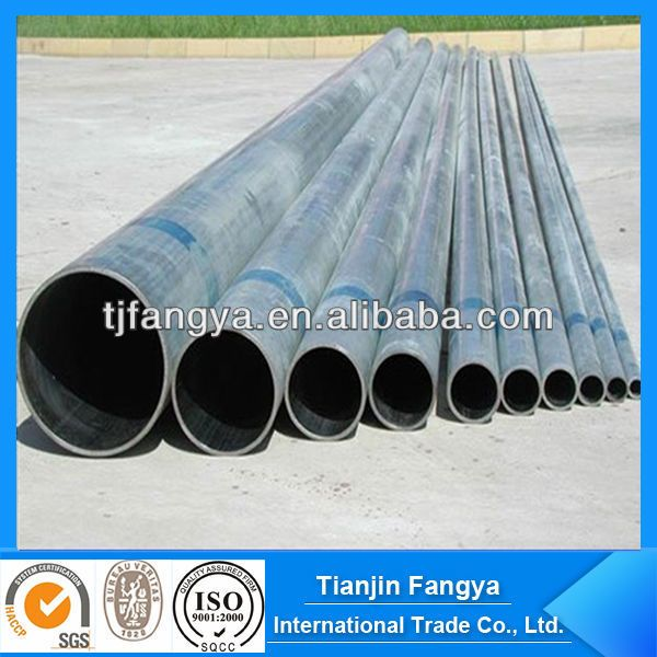 galvanized steel structural pipe 1od201250mm 2wt05