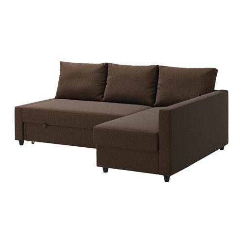 FRIHETEN Sofácama esquina - Skiftebo marrón, - - IKEA