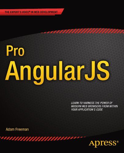Pro AngularJS $19.99 #bestseller