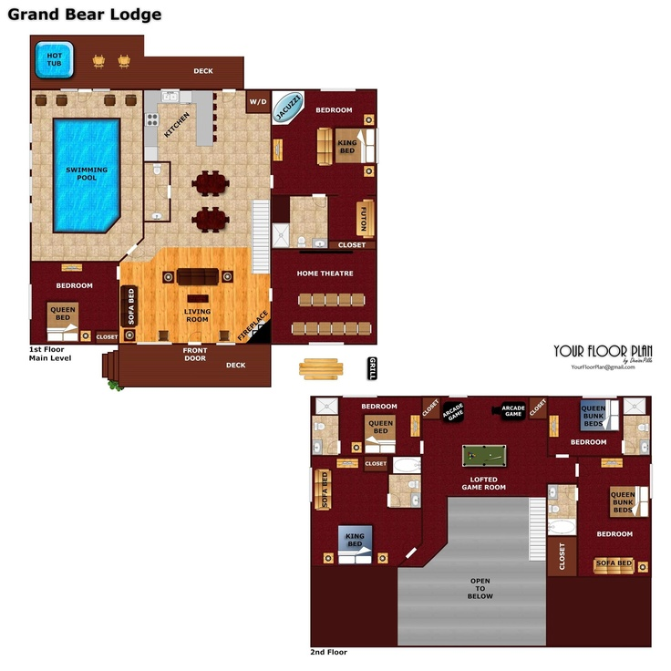 18 best Floor Plans of our Cabins images – Forge Wood Site Plan