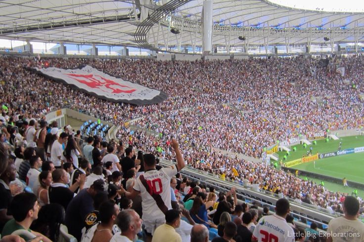 A must during your visit in Brazil: go to see a soccer/ football game. Here: the mythic Maracana