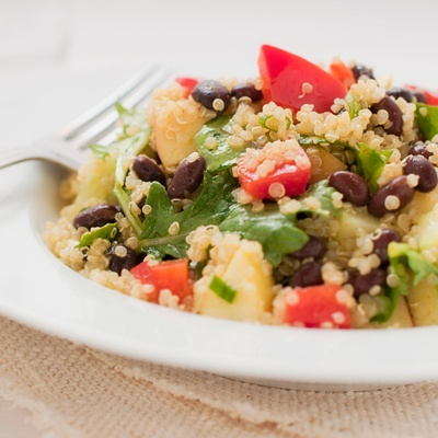 Slow Cooker Mexican Quinoa with Black Beans: Gluten Free Food, Crock Pots, Black Beans, Slow Cooker Vegans Gluten Free, Yummy Food, Beans Salad, Crockpot Recipe, Mexicans Quinoa, Cooker Mexicans