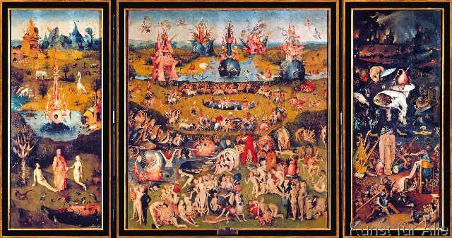 Hieronymus Bosch - Der Garten der Lüste