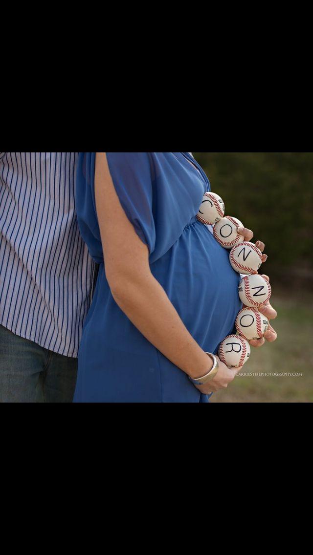 Baseball theme. My husband and I are huge baseball fans :)
