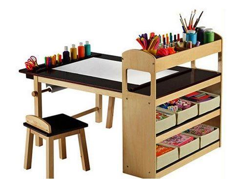 Необычные креативные детские столы