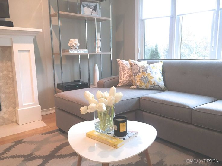 HOME JOY DESIGN | Family room styling
