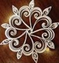 Feathered Snowflake by QuintQuilling on Etsy, $15.00