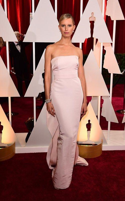 Oscary 2015: Karolina Kurkova w sukni Marchesa, fot. East News