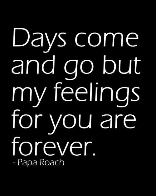 Forever--Papa Roach