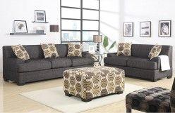 Linen Sofa & Loveseat Set  F7447