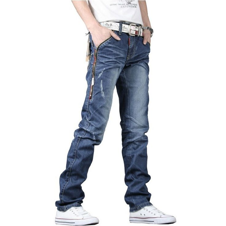 19.42$  Buy here - http://aliwfm.shopchina.info/go.php?t=32240126890 - Top selling men jeans pants straight trousers denim classical men's jeans pants blue size 28-34 19.42$ #buyonlinewebsite