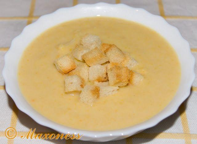 Картофельный суп-пюре. Французская кухня.