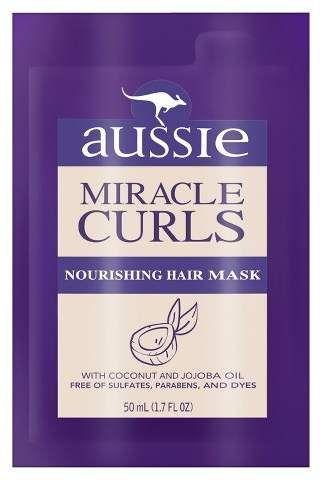 Aussie Miracle Curls Nourishing Hair Mask - 1.7 fl oz