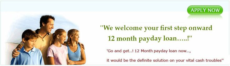What 12 month pay day loans all about    12 month loans are all about solving your cash troubles. Every one of us does alert with these following instant cash issues…..     1- Credit Debts   2 - Grocery Bills   3- School Fees    4-   Extra Luxury   4-Home Repair      5-Sudden Cash Shortage    no wonder that in our routine life we are bothering with these requirements more or less and for that we need cash as the same moment as we want. You may possibly know about 12 month payday loans.
