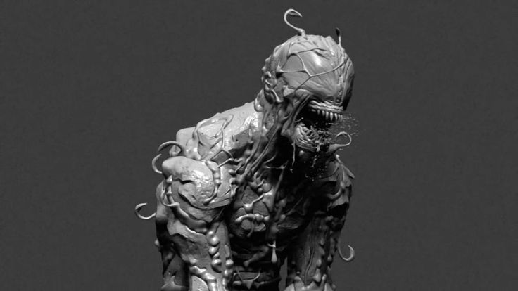 Making of Carnage Symbiote by Adam Sacco