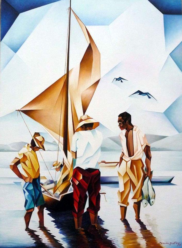 ☆ Os Pescadores :¦: Artist Damião Martins ☆