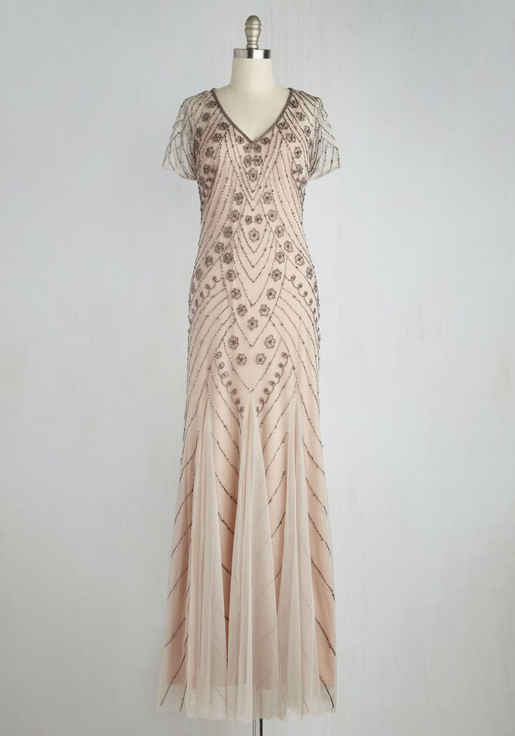 evening dress for mature