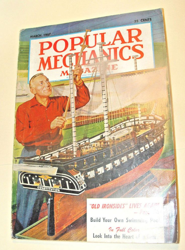 POPULAR MECHANICS MAGAZINE*-MARCH 1957 VOL 107-WRITTEN SO YOU CAN UNDERSTAND IT  | eBay