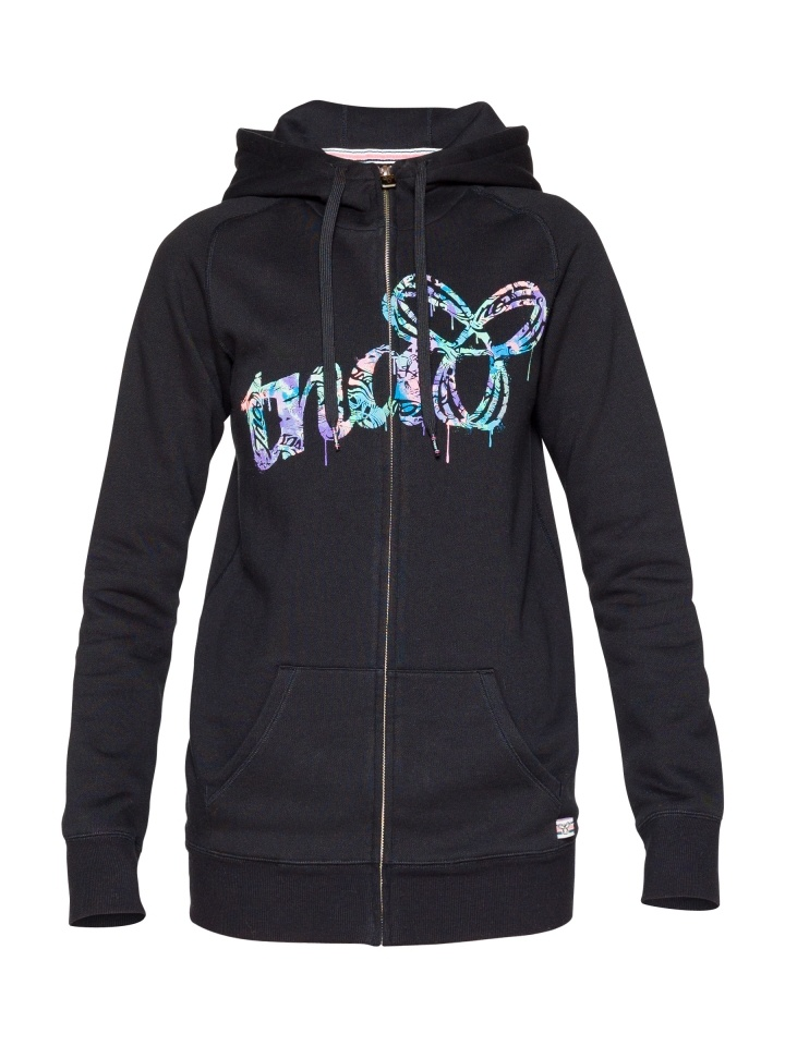 TNA Long Fit Hoodie with Graffiti Graphic!!