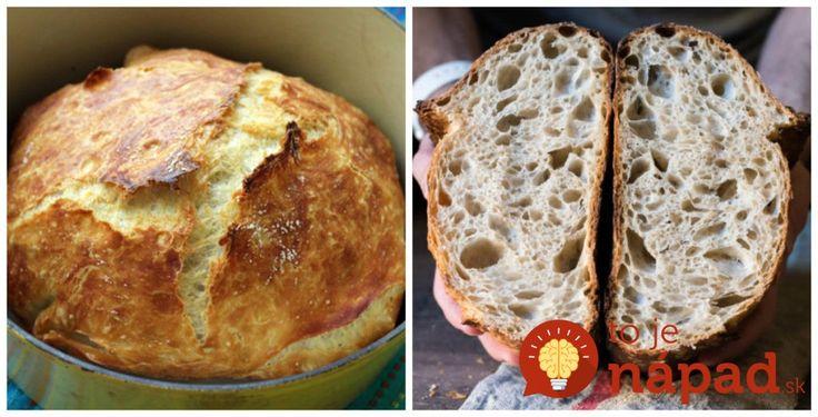 Vynikající chlebík bez míchání, bez pekárny a téměř bez práce: Vyzkoušela jsem poprvé na rodinné grilovačce a zmizel dřív, než se připravilo maso! – České Informace