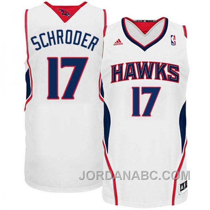 ... Buy Atlanta Hawks Dennis Schroder Revolution 30 Swingman White Jersey  from Reliable Atlanta Hawks Dennis Schroder ... db0afa65d