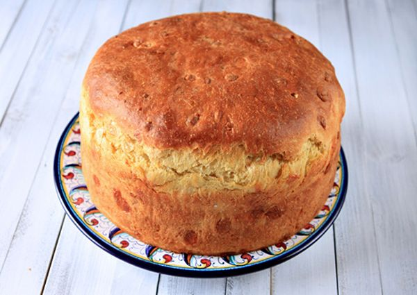 Italian Food Forever » Crescia ~ Umbrian Easter Cheese Bread