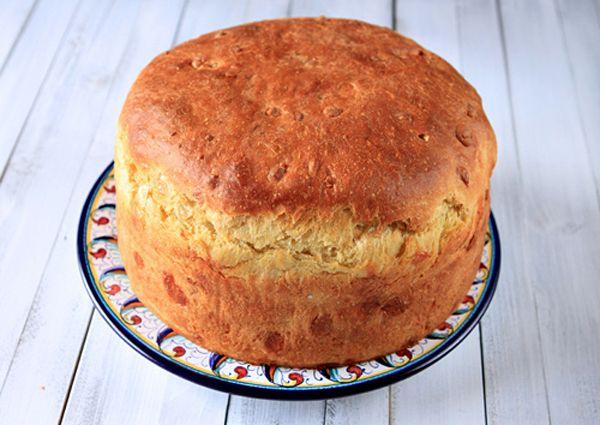 Italian Food Forever » Crescia ~ Umbrian Easter Cheese Bread