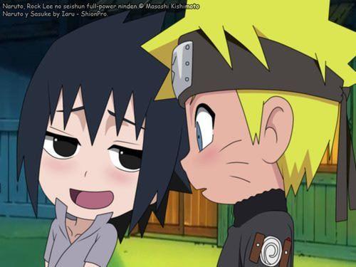 Naruto sd - sasunaru