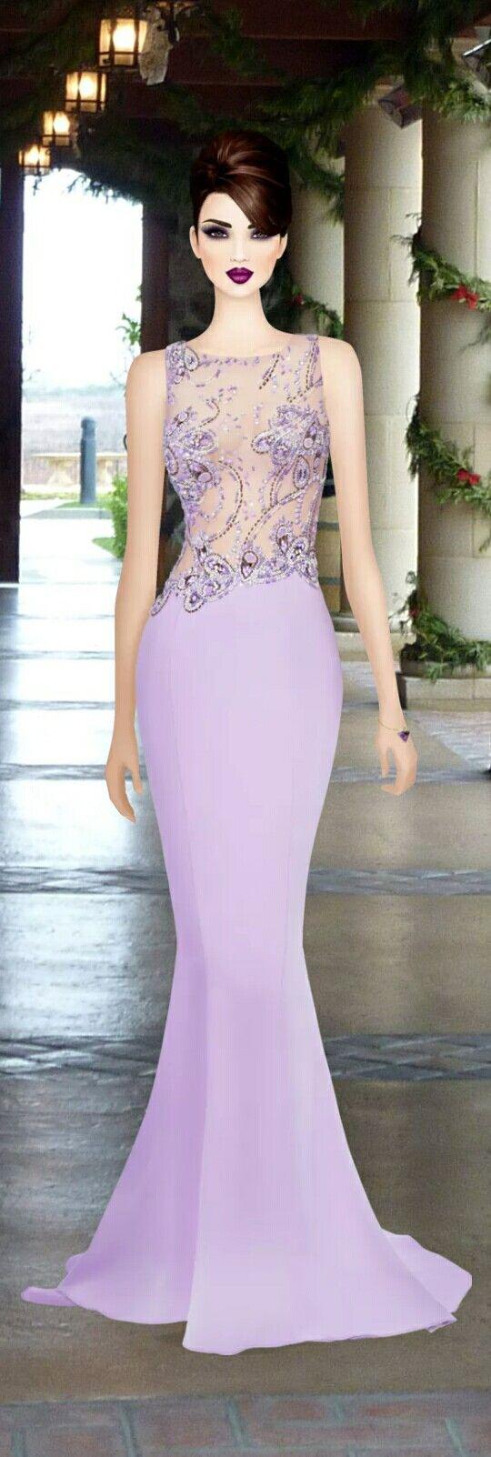 Jeux de mode robe