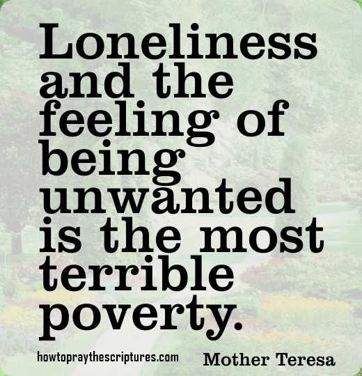 As an only child in a dysfunctional family of deniers and enablers, through time I suffered with acute loneliness through emotional isolation and feeling unwanted and misunderstood...it is a terrible poverty and a void I tried to fill with binge eating...then up-chucking it up.