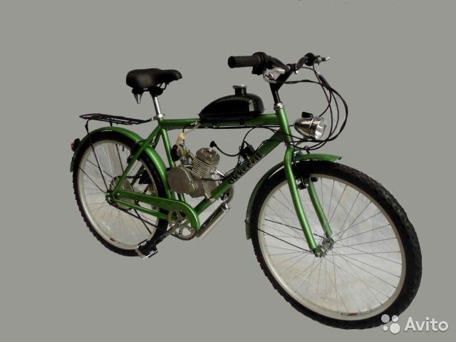 Велосипед с мотором Okkervil ZNC-32006G