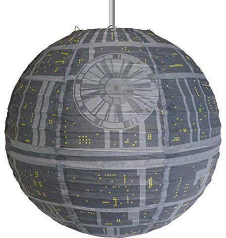 Star Wars Death Star Paper Light Shade