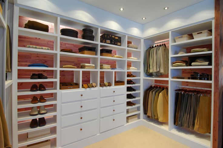 CedarSafe 100% Natural Closet Liners Look Great Offset By The White Of This  Modular Shelving