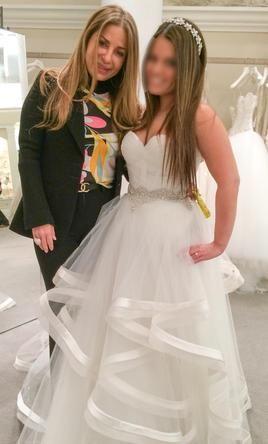 Spectacular Pnina Tornai Size New Un Altered Wedding Dresses