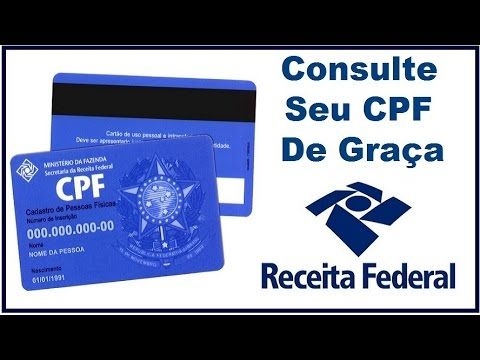 Receita Federal Consulta Ao Cpf. http://receita-brazil.blogspot.com/2018/01/receita-federal-consulta-ao-cpf.html. VIDEO : consulte seu cpf de graça - situação cadastral - receita federal! - consulte seuconsulte seucpfde graça -consulte seuconsulte seucpfde graça -receita federal! click aqui para se inscrever no canal: https://www.youtube.com/channel/ ....