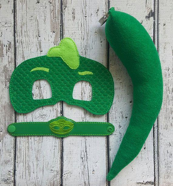 Eroe verde Bedtime PJ maschera coda e di TreasuredForever su Etsy
