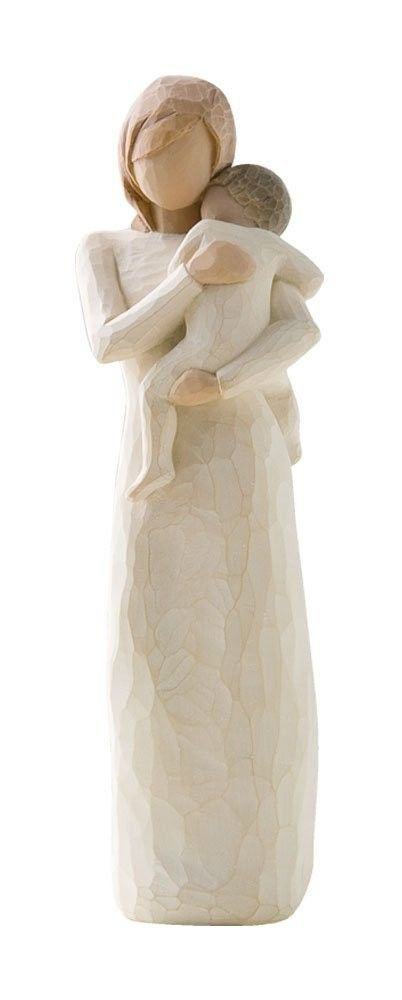 child figurines | NEW DEMDACO Willow Tree Figurine Child of My Heart w/Gift Box Mothers ...