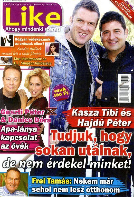 Kasza Tibor & Hajdú Péter (2013.10.24. Like) #KaszaTibor #HajduPeter