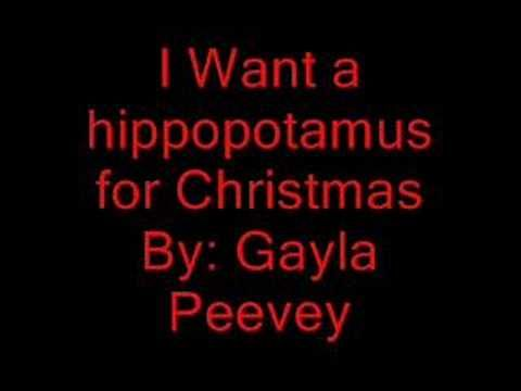Singing Hands: I Want a Hippopotamus for Christmas - with Makaton - YouTube