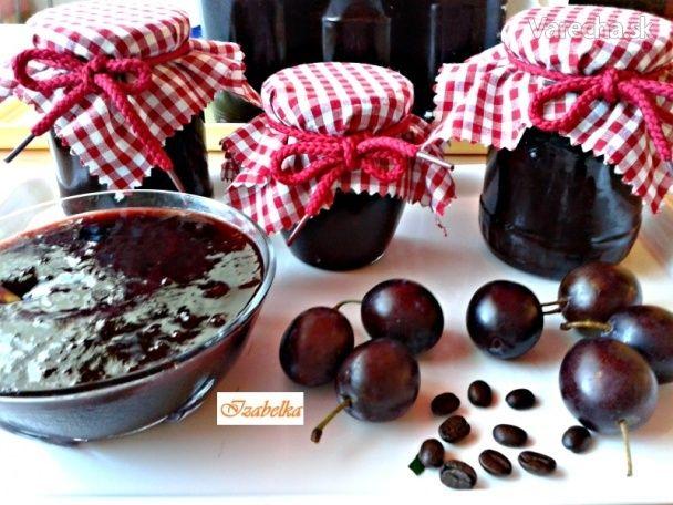 Švestkově-kávový džem s Fernetem (fotorecept)