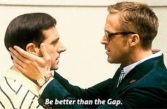 Crazy Stupid Love (2011) Quote (About fashion, Gap, gay)