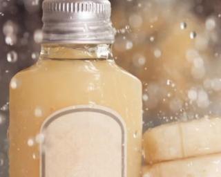 Masque conditionneur banane-miel pour cheveux abîmés