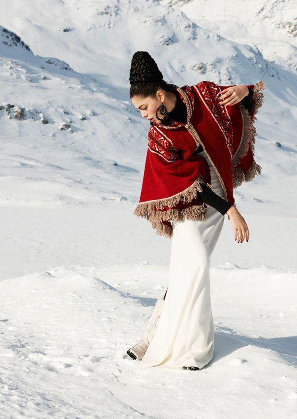 """""""Snow"""" by Janette Gloor, via Behance"""