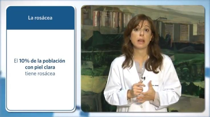 Tratamiento de la rosácea. La doctora Leyre Aguado explica qué es la rosácea y qué tratamientos hay disponibles.